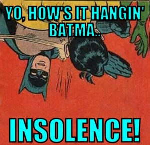 upside down batman meme how's it hangin' Batman